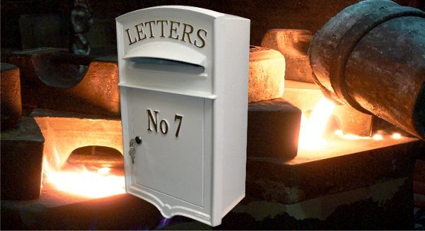 Lumley Designs Cast Iron Post Boxes