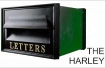 Harley Cast Iron Post Box