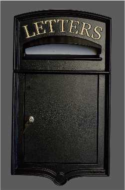 Royal cast iron postbox