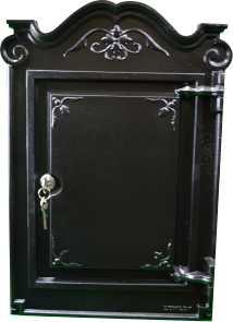 cast iron postbox door