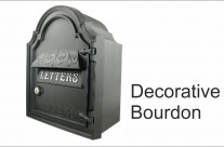 Decorative Wall Mounted Post Box