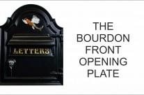 Bourdon front opening letterplate