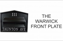 Warwick Letterplate